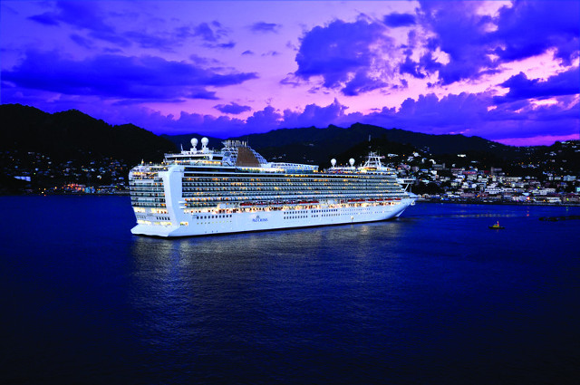 P&O sails the Caribbean